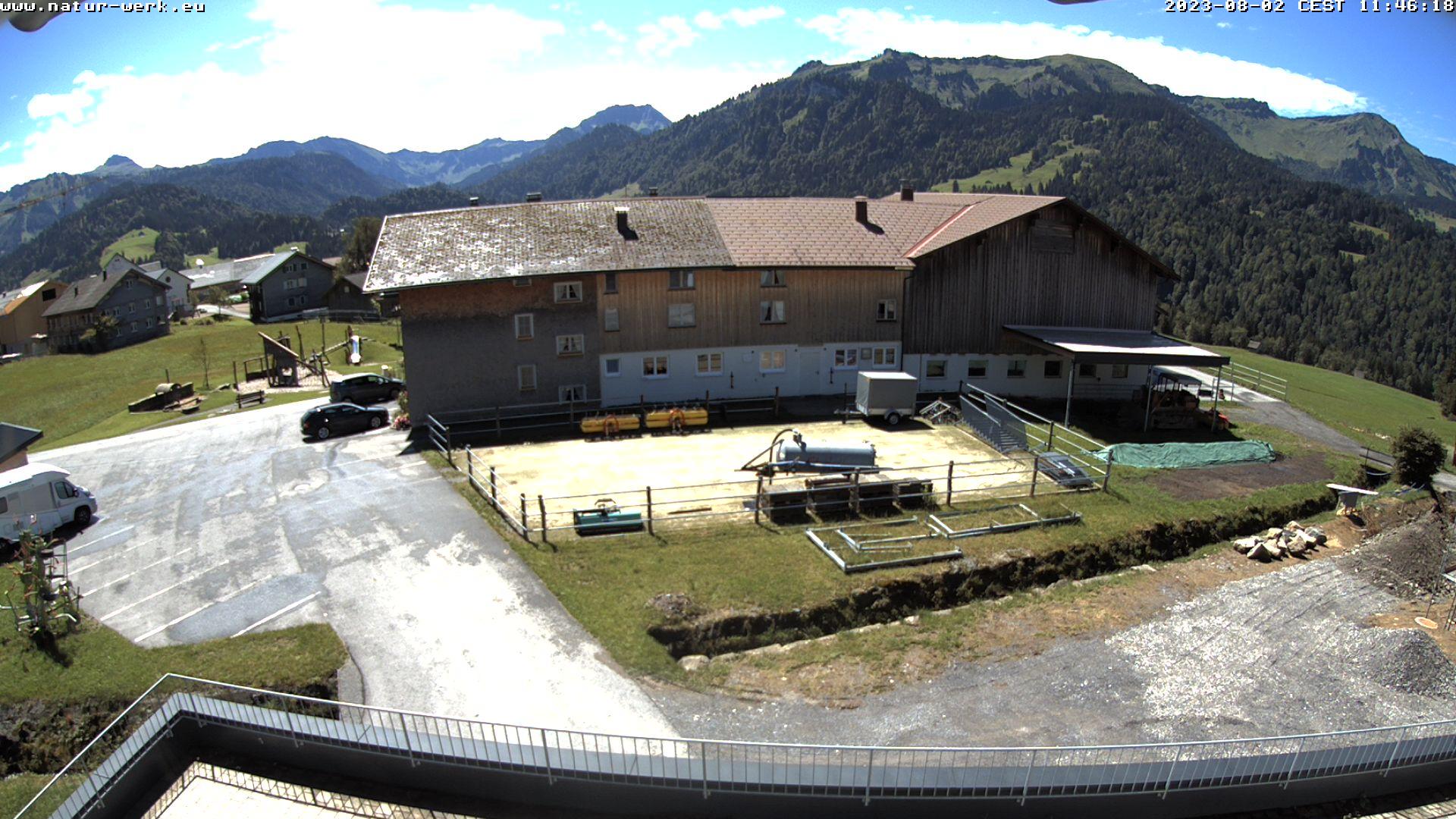 Webcam Dorner Hof Sibratsgfäll