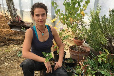 Neu im Team: Gemüse- und Obstbäuerin Nadine